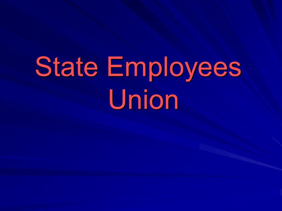 State Employees Union