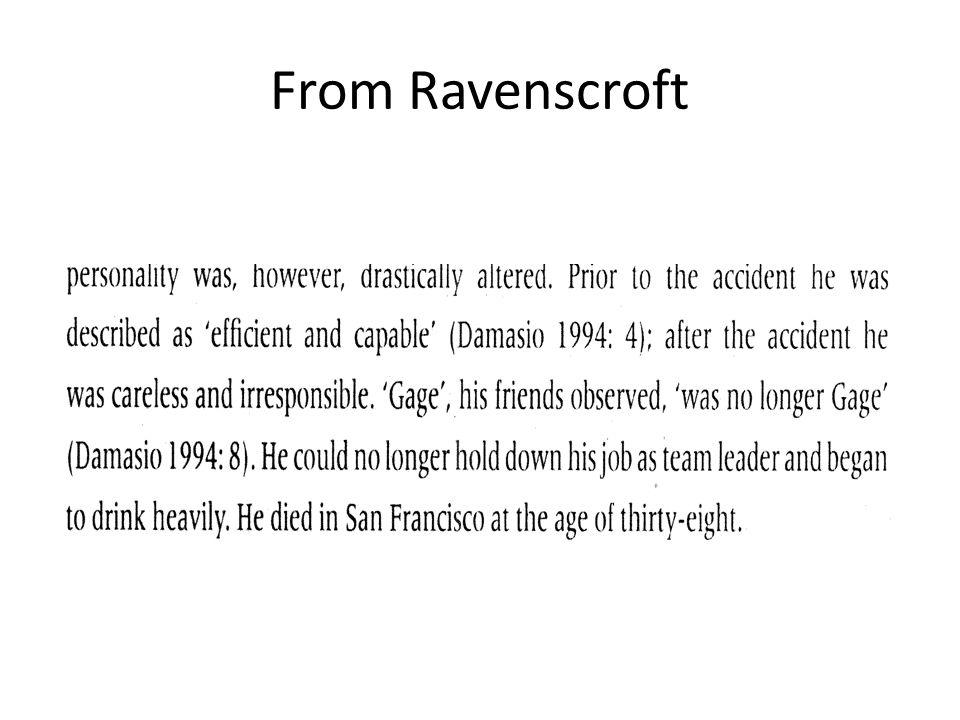 From Ravenscroft