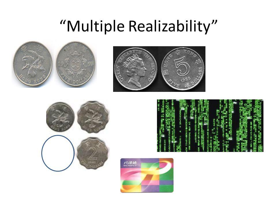 """""""Multiple Realizability"""""""