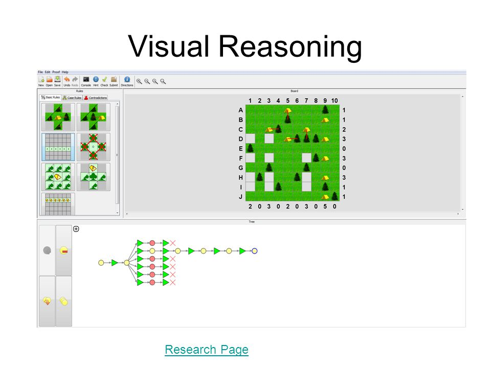 Visual Reasoning Research Page