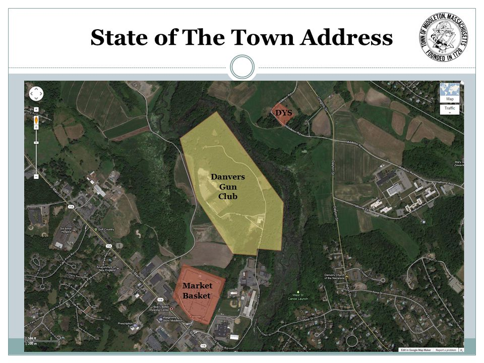 State of The Town Address DYS Market Basket Danvers Gun Club