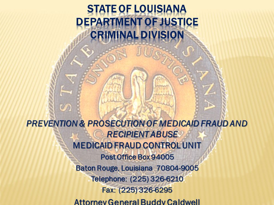 investigate and prosecute Medicaid fraud as well as patient abuse and neglect in health care facilities operate in 49 States and in the District of Columbia.