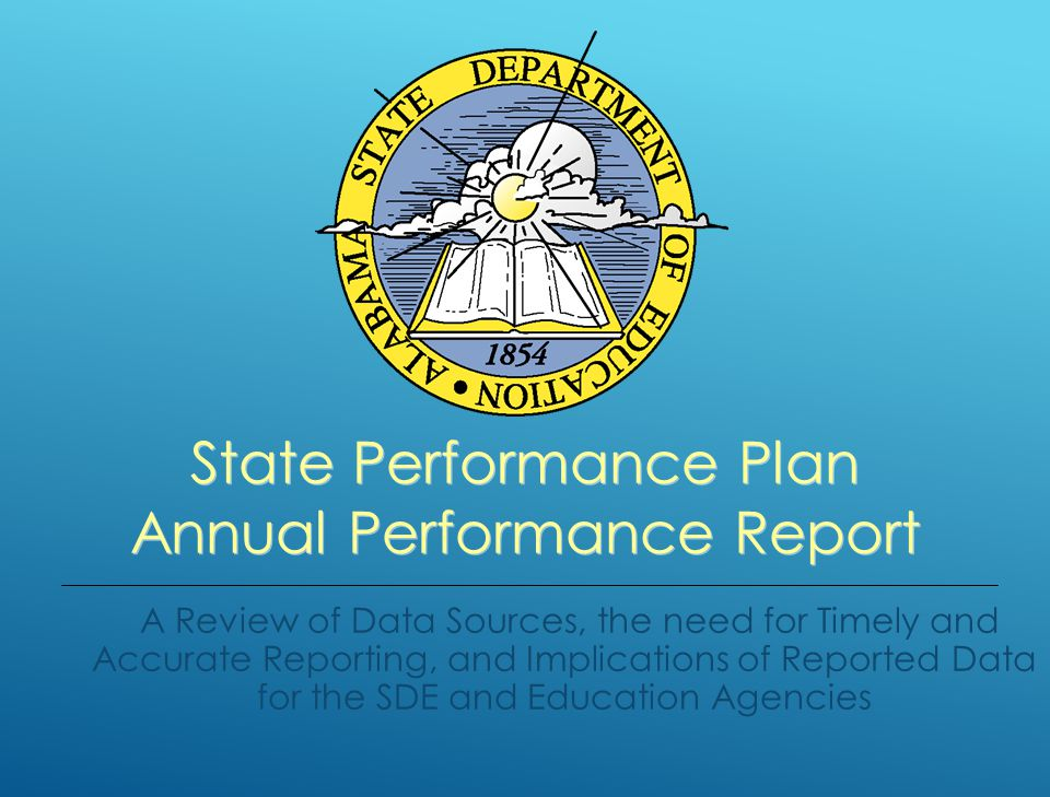 Special Education Services, Alabama Department of Education State Performance Plan - Annual Performance Report 2012-2013 ARMT READING PROFICIENCY SCORE COMPARISON