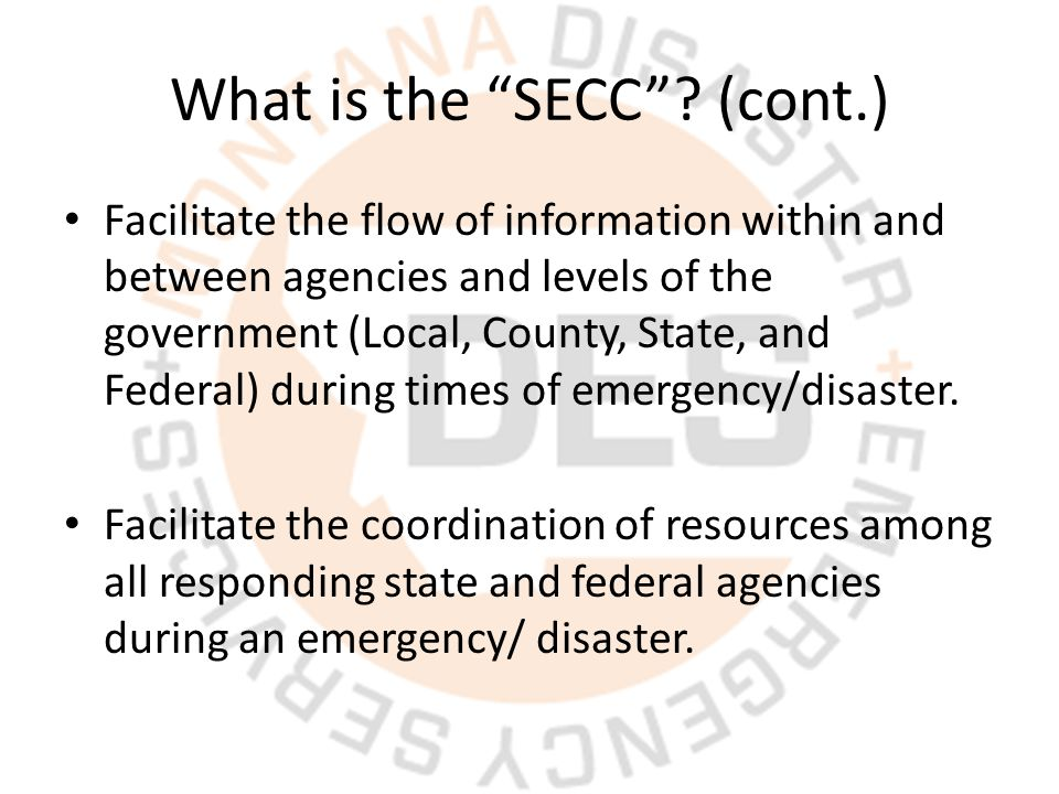 What is the SECC .
