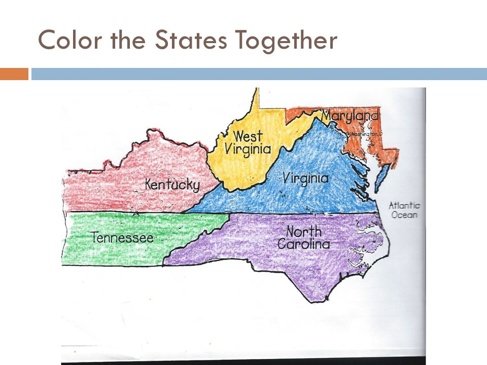 Color the States Together
