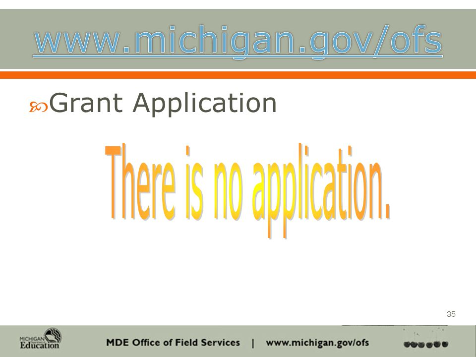  Grant Application 35