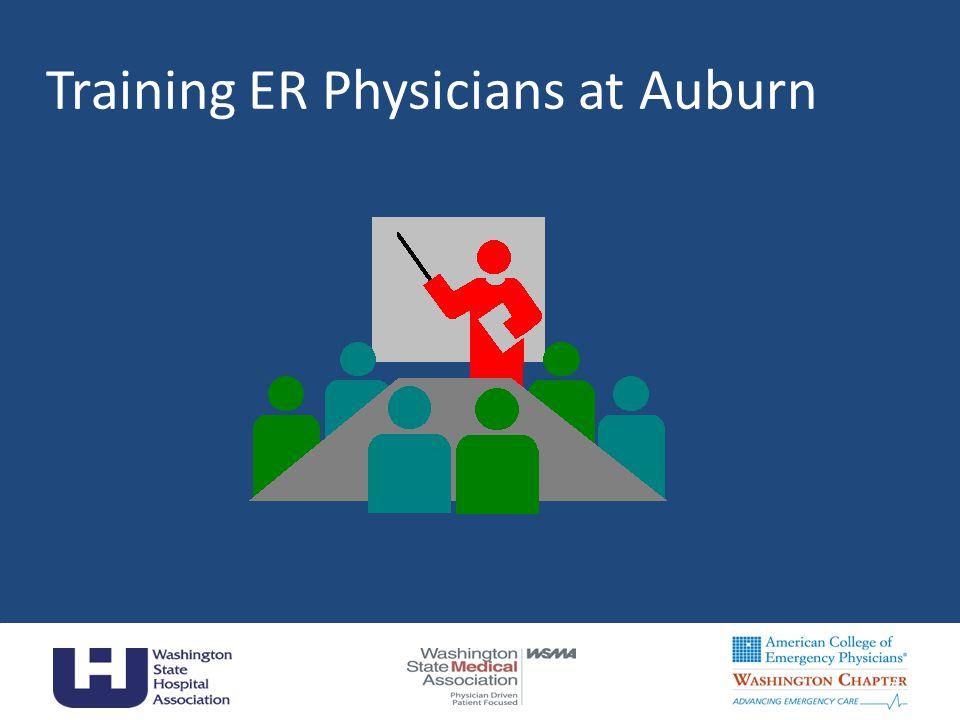 36 Training ER Physicians at Auburn