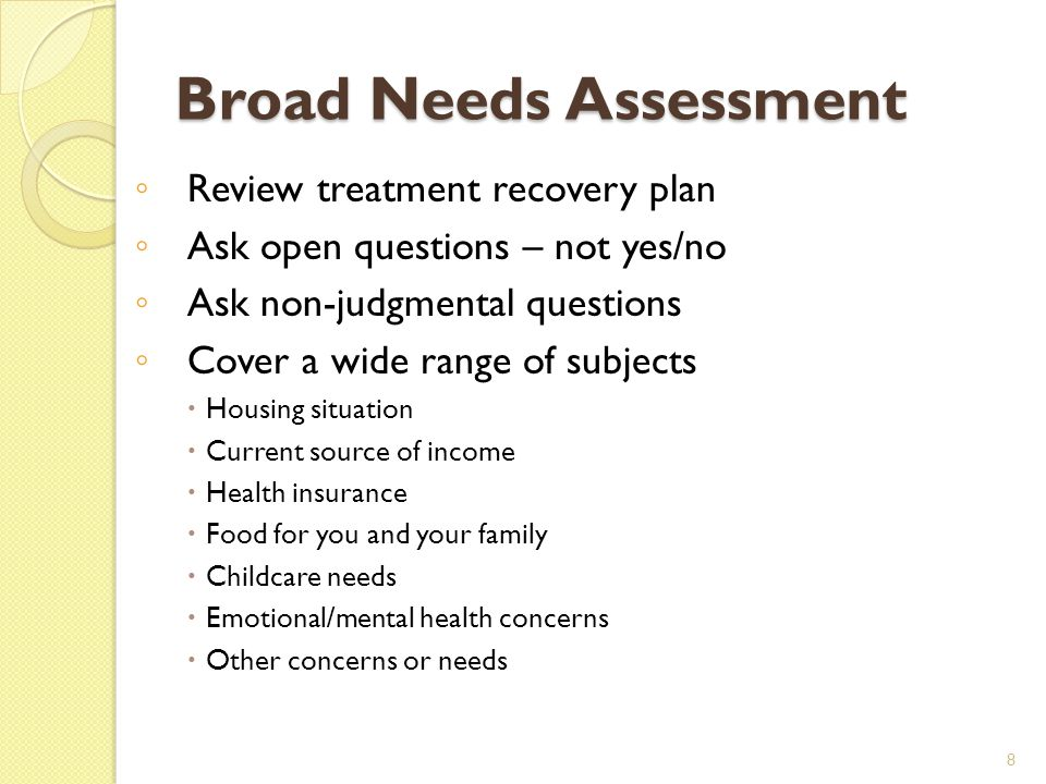 SMART Recovery Plan The recovery plan is where information gathered is used to put recovery into practice.