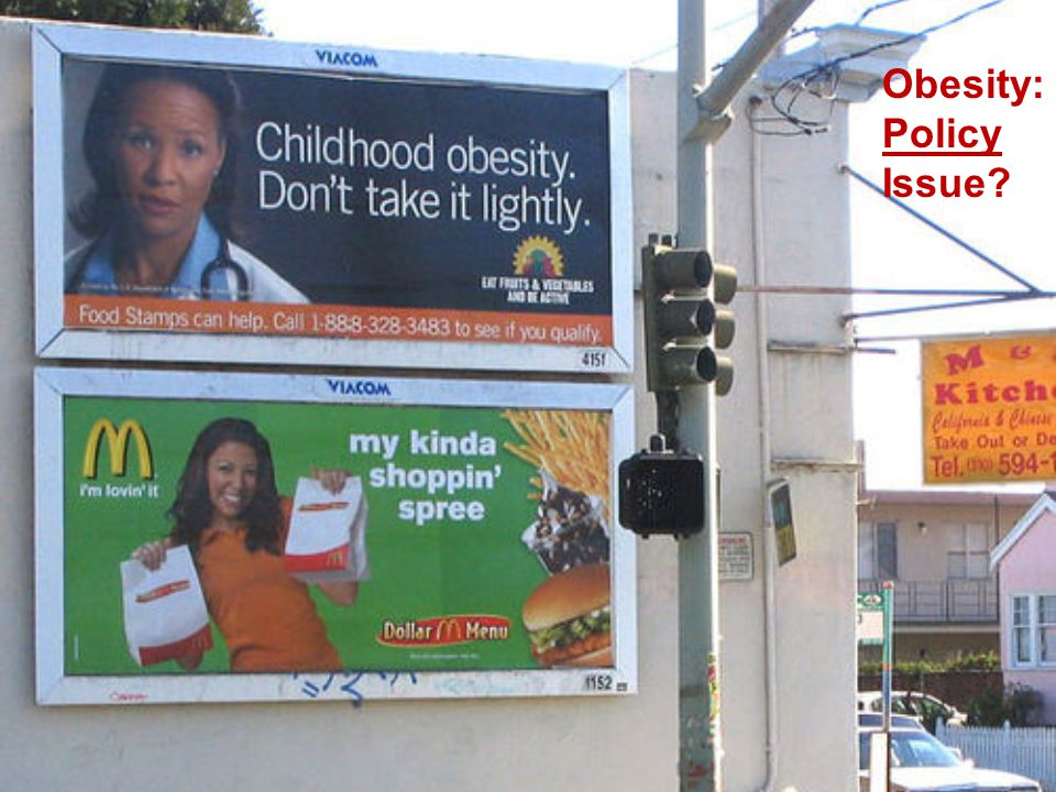 Obesity: Policy Issue