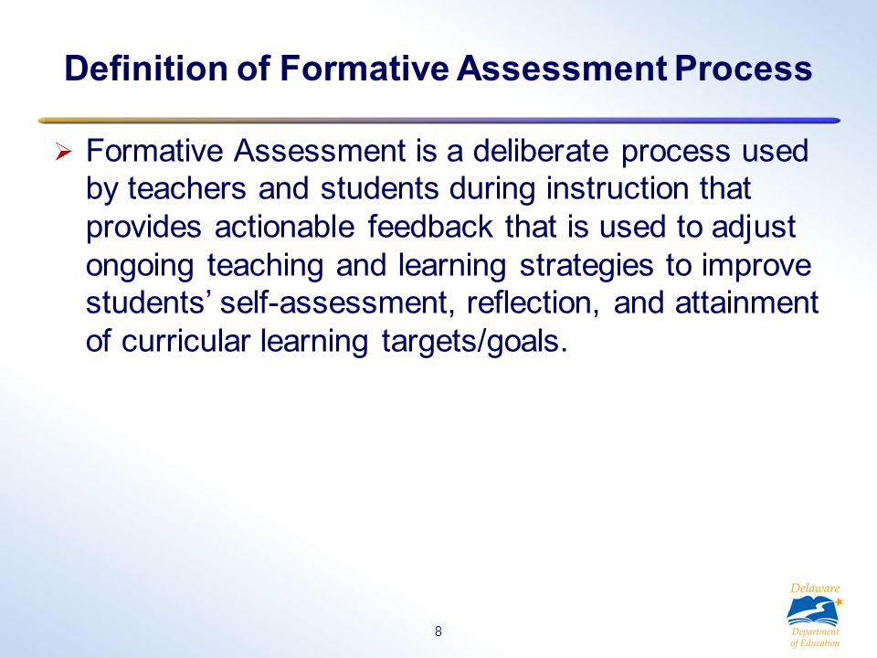 Four Attributes of the Formative Assessment Process 9 http://www.youtube.com/watch?v=ccr8eT2Q98A&feature=youtu.be