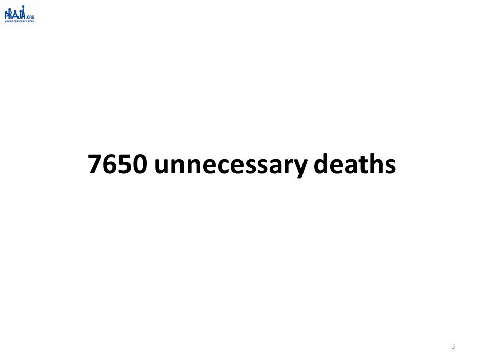 7650 unnecessary deaths 3