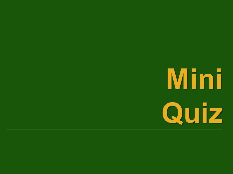 MiniQuiz