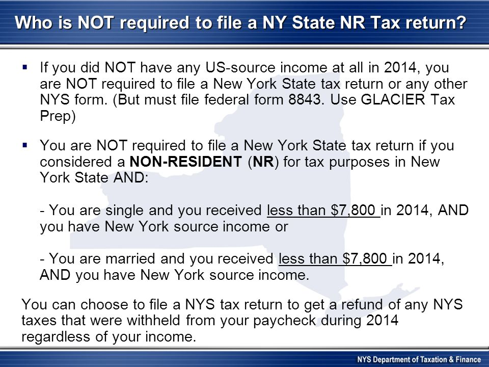 Income Tax Refunds  Three options for refund: direct deposit, paper check or DEBIT CARD  DEBIT CARDS –a way for individuals to receive their New York State income state tax refund.