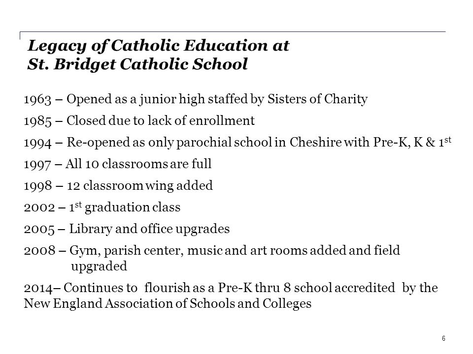 St. Bridget School Fostering Academic Excellence, Community Awareness and Spiritual Growth 47