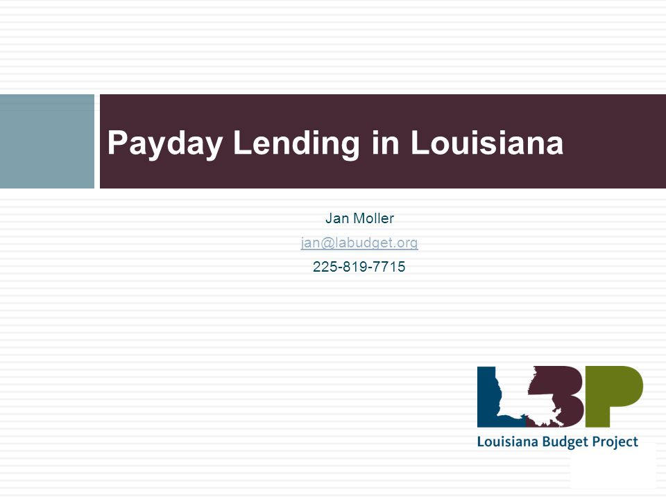 Alternatives to Payday Lending Payment plan with creditors Paycheck advance from employer Seek help from consumer credit counselor Deal with your debt