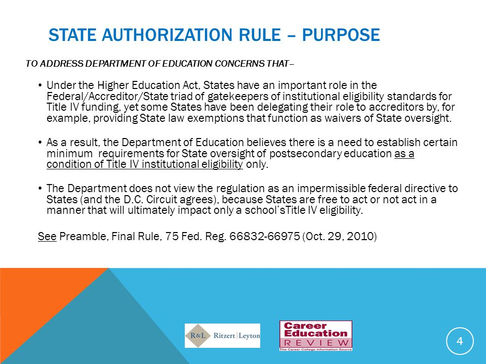 ADDITIONAL GUIDANCE – DCL GEN-11-05 (MARCH 2011) – ESTABLISHED BY NAME Under 600.9(a)(1)(i)(A), articles of incorporation may meet the requirement for an institution to be established by name as a postsecondary educational institution if the articles are for the establishment of a postsecondary institution and the institution is incorporated by name but not if the articles of incorporation are the same as articles of incorporation for a business or nonprofit entity in the State. This goes to the active role requirement.