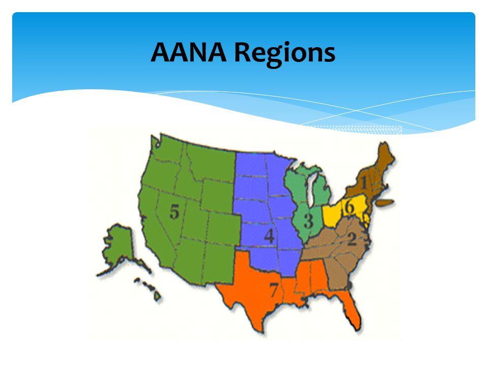 AANA Regions
