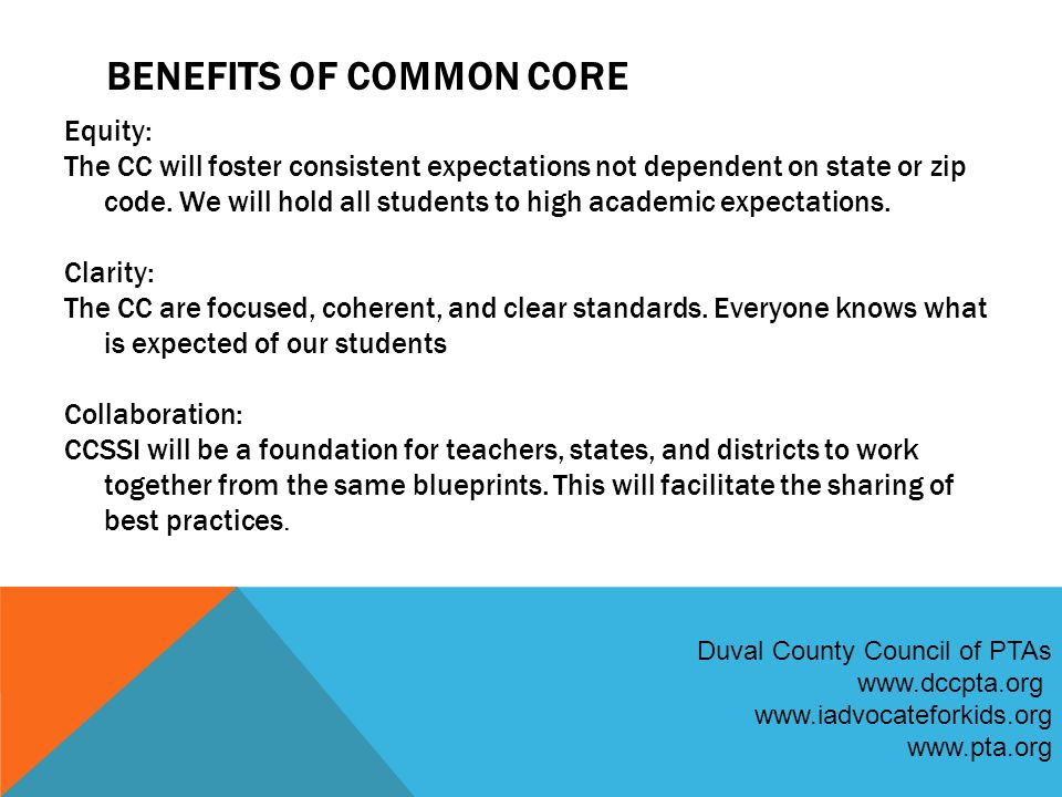 IMPLEMENTATION PROGRESS 45 states have voluntarily adopted the Common Core, as well as the District of Columbia, the U.S.