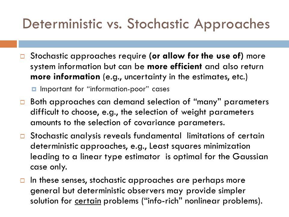 State Estimation Algorithm Part III