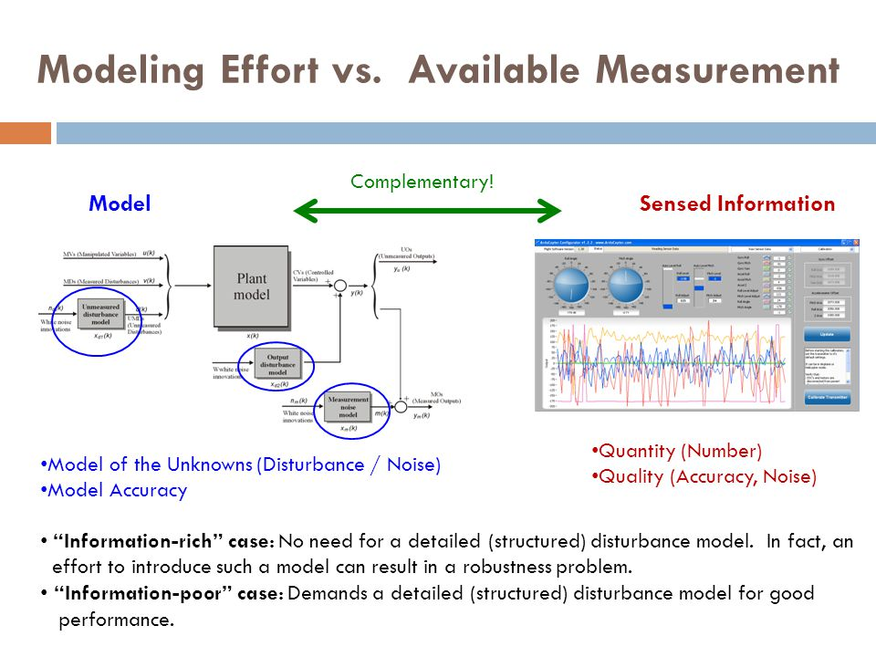 Detectable formulation * after differencing * used by estimator/ controller HMM Disturbance Model for Offset-free LMPC
