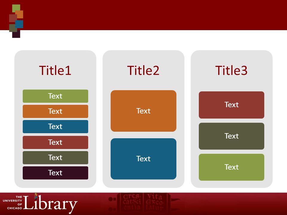 Title1 Text Title2 Text Title3 Text