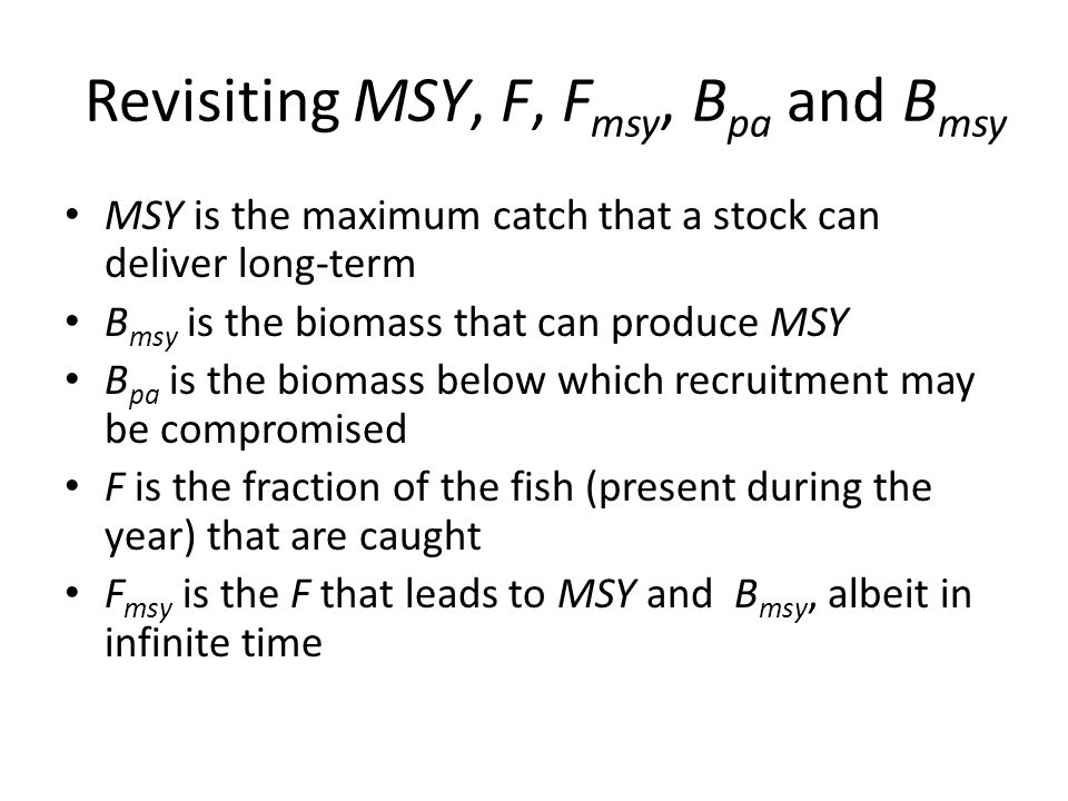 Biomass as a Function of F/M and Length at first Capture Froese et al. in prep.