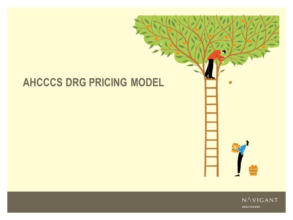 AHCCCS DRG PRICING MODEL