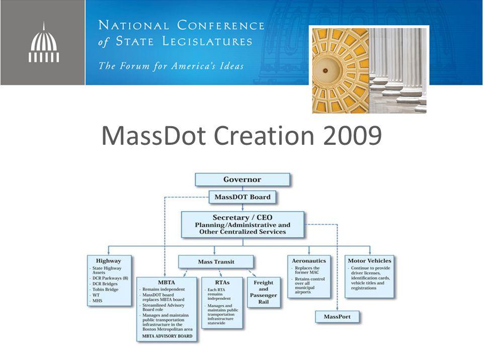 MassDot Creation 2009