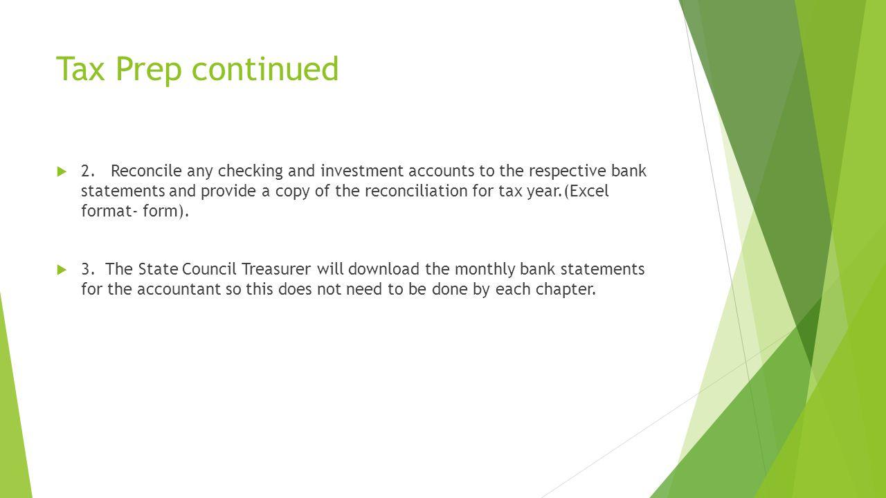 Tax Prep continued  2.