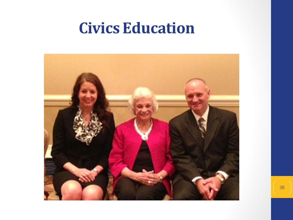 36 Civics Education