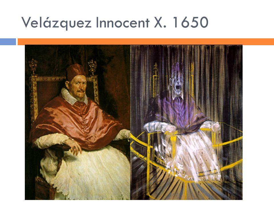 Velázquez Innocent X. 1650