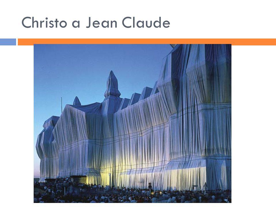 Christo a Jean Claude