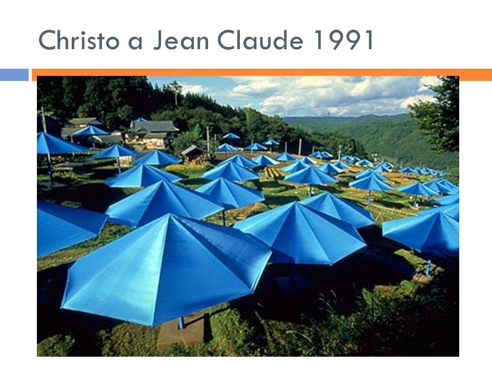 Christo a Jean Claude 1991