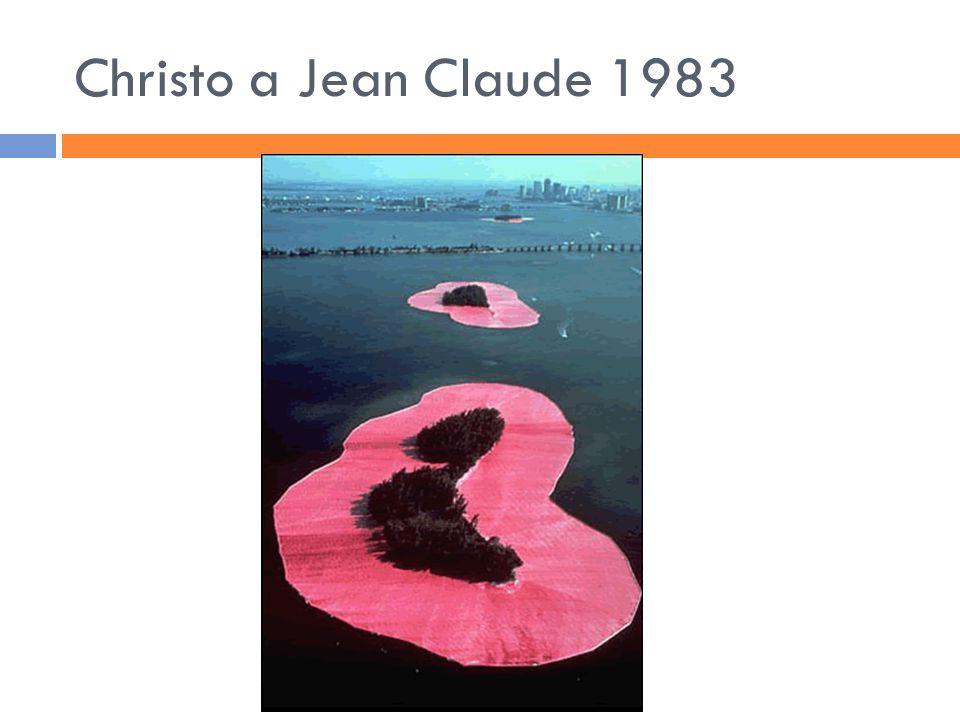 Christo a Jean Claude 1983