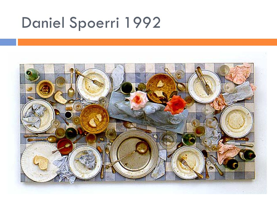 Daniel Spoerri 1992