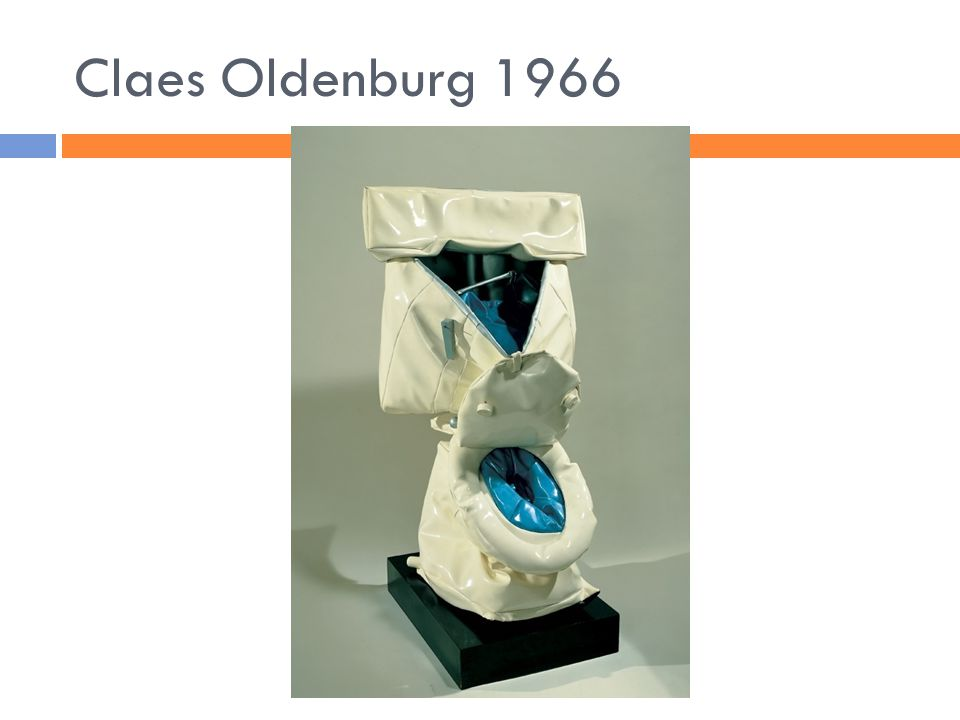 Claes Oldenburg 1966