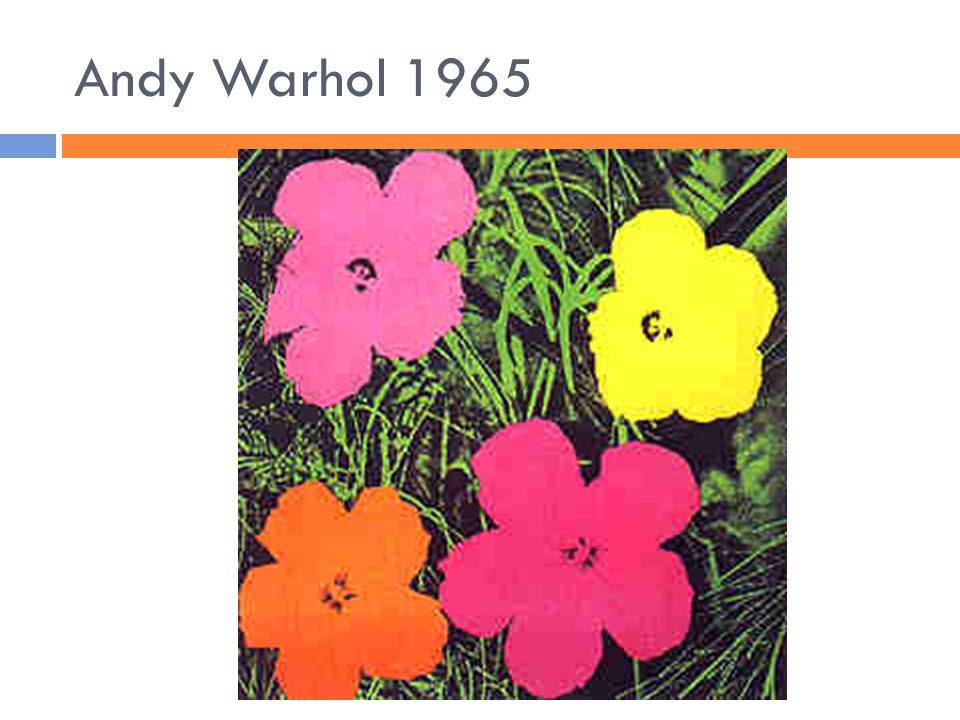 Andy Warhol 1965