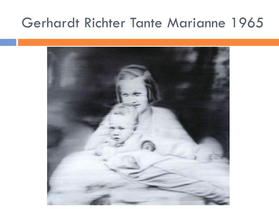 Gerhardt Richter Tante Marianne 1965
