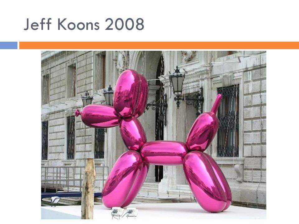 Jeff Koons 2008