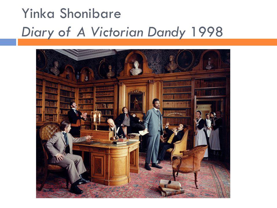 Yinka Shonibare Diary of A Victorian Dandy 1998
