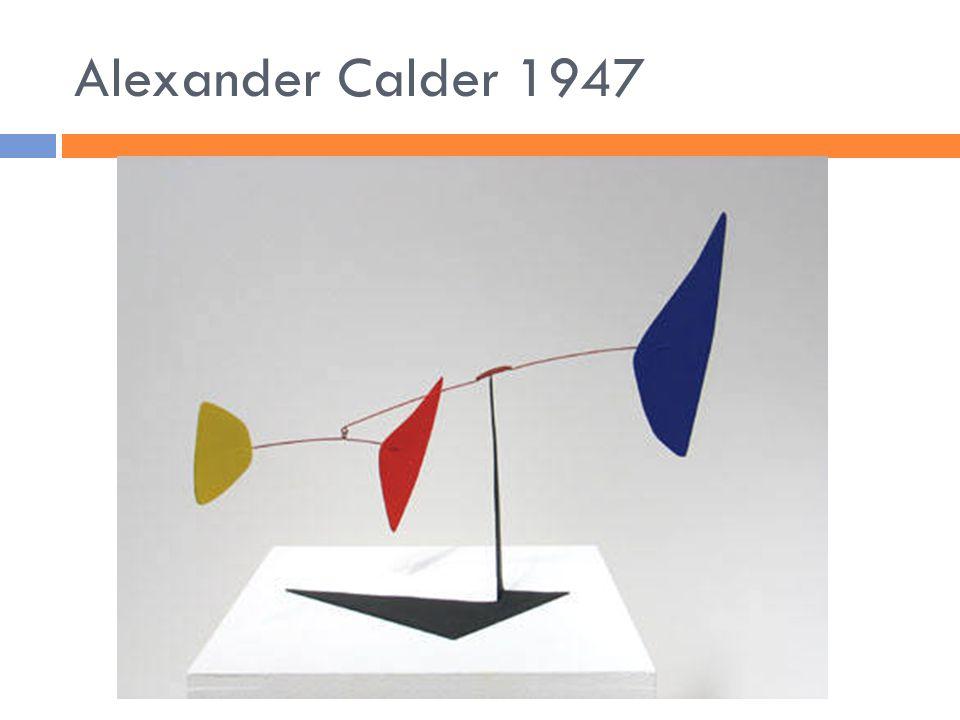 Alexander Calder 1947