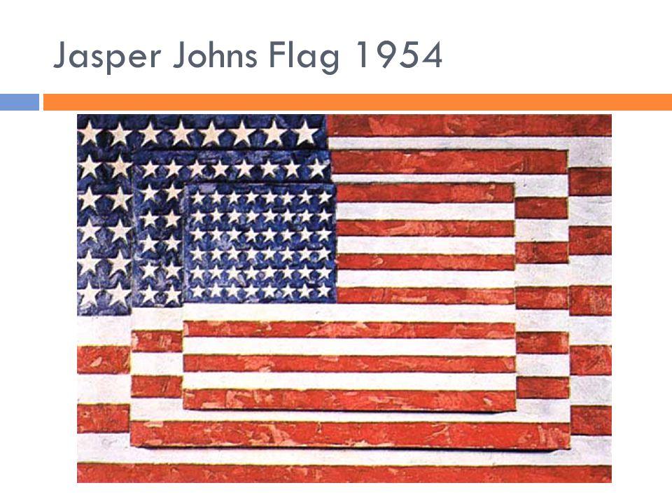 Jasper Johns Flag 1954