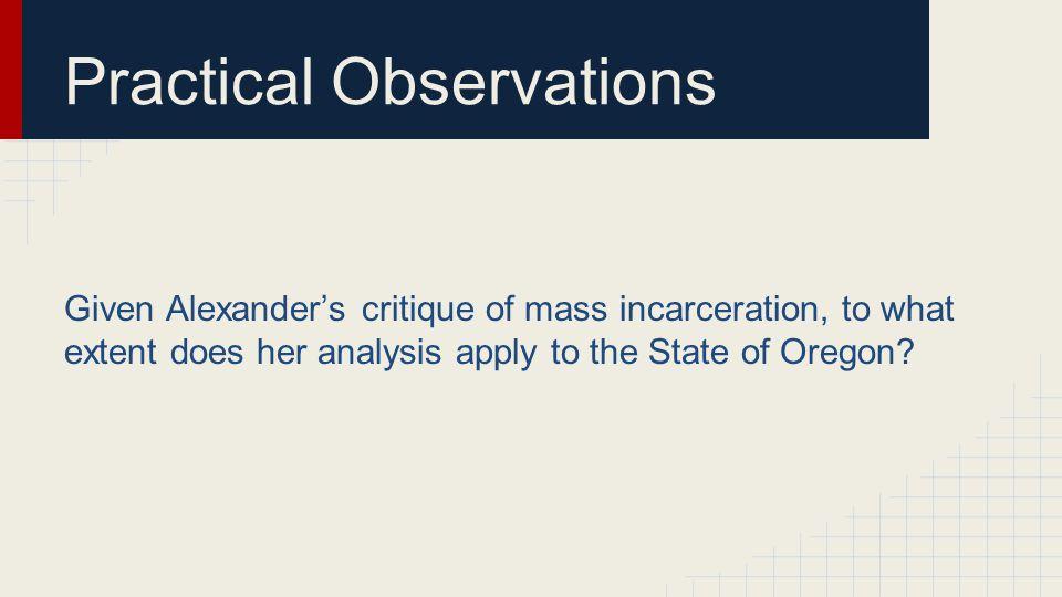 Issue Considered Oregon v.