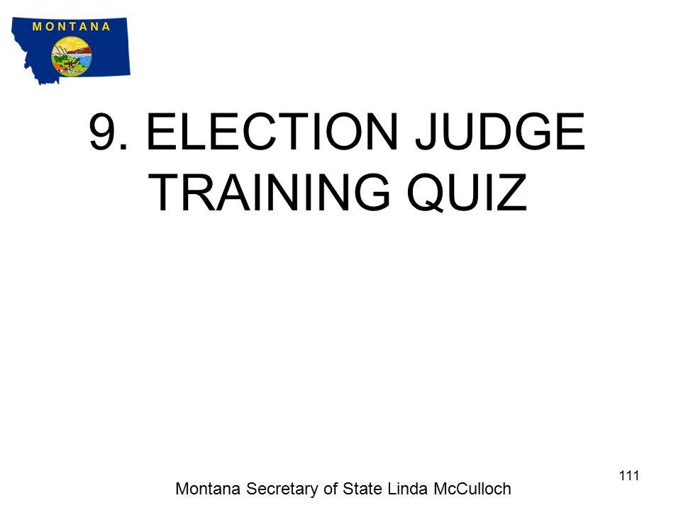 Montana Secretary of State Linda McCulloch 110 Congratulations.