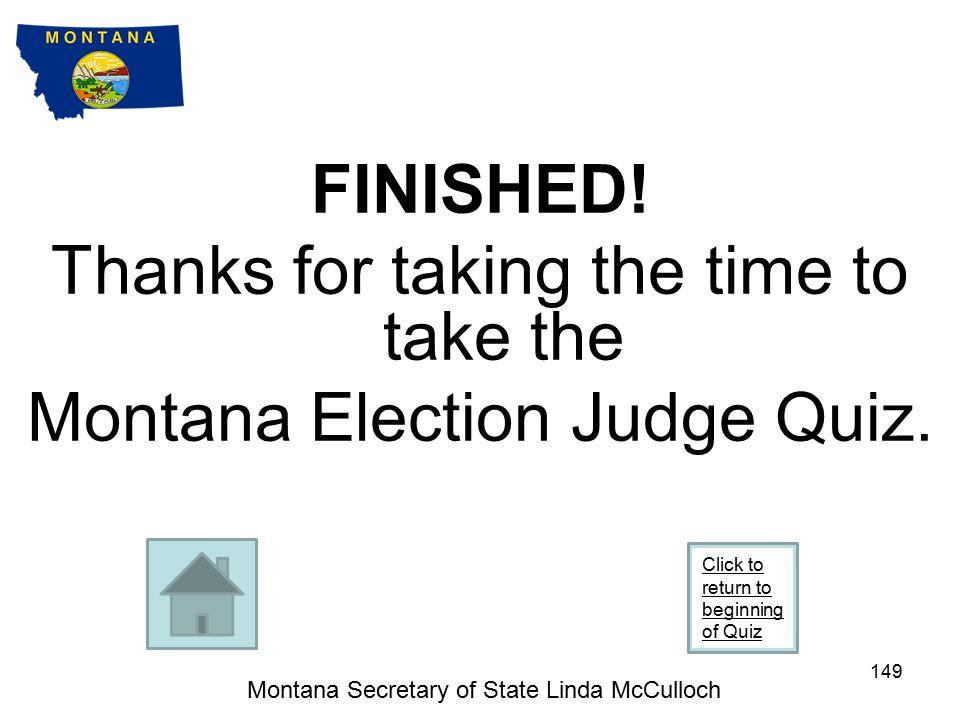 Montana Secretary of State Linda McCulloch 148 #9 b.