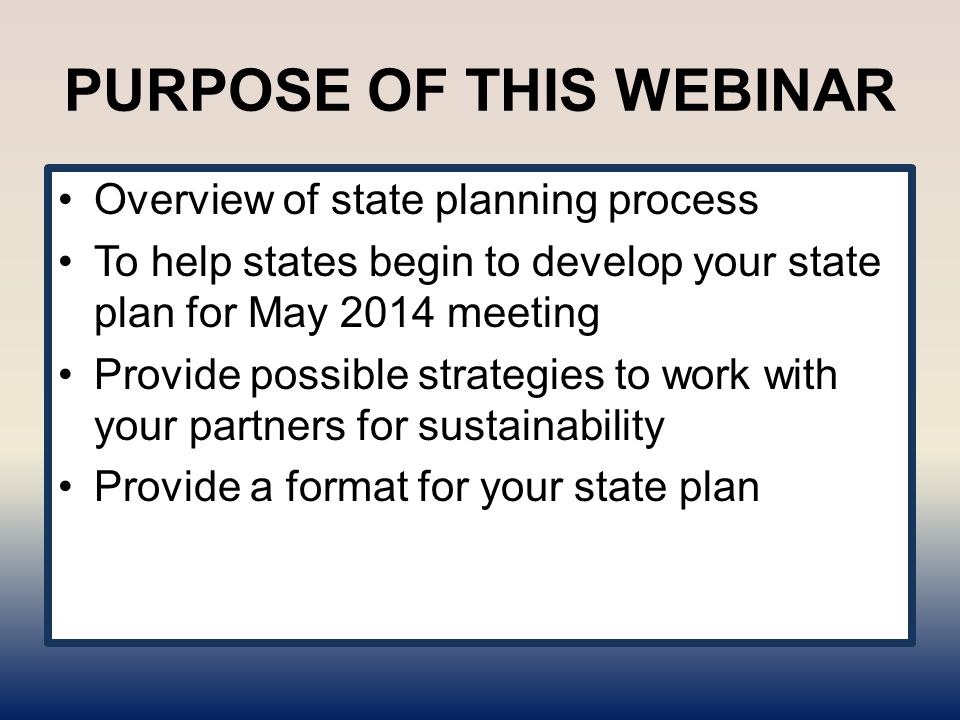 Next: Objectives of OCSS Technical Assistance To Develop or Enhance partnerships with DD Partners in your state Increase connections to the grassroots to promote self advocacy efforts