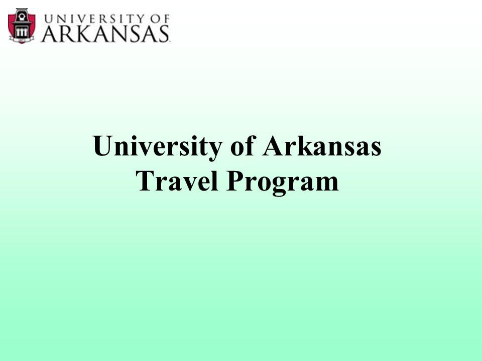 University of Arkansas Travel Program