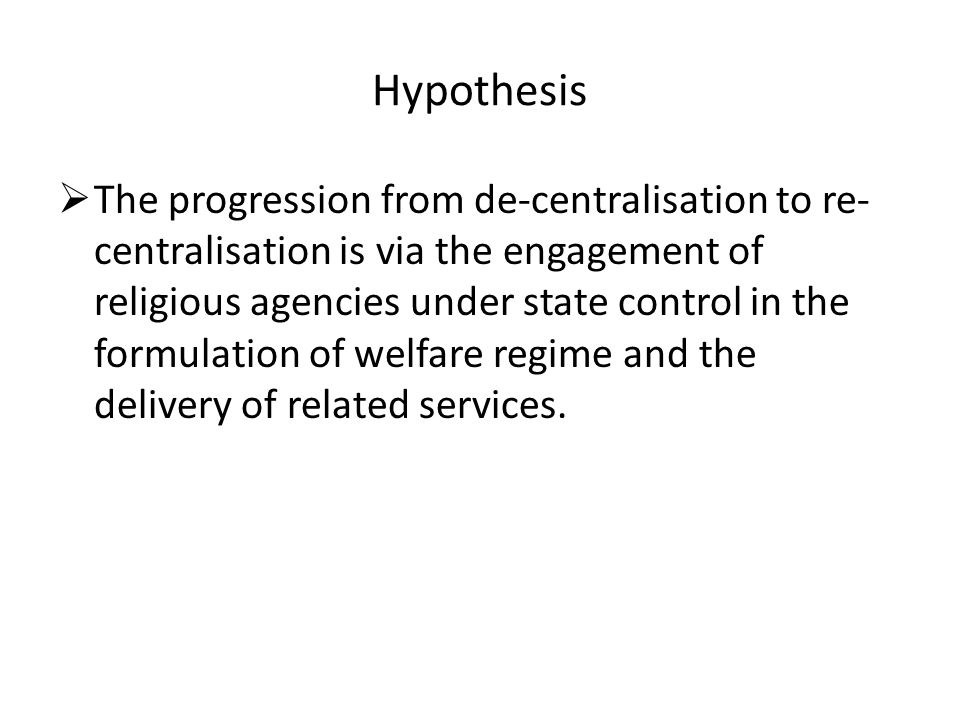 Empirical Findings AIBs are active agents of welfare delivery, especially in replacement of traditional social policy instruments by the state Hutbes act as effective discursive means as they affect the views of listeners, among many, on issues that relate to family life