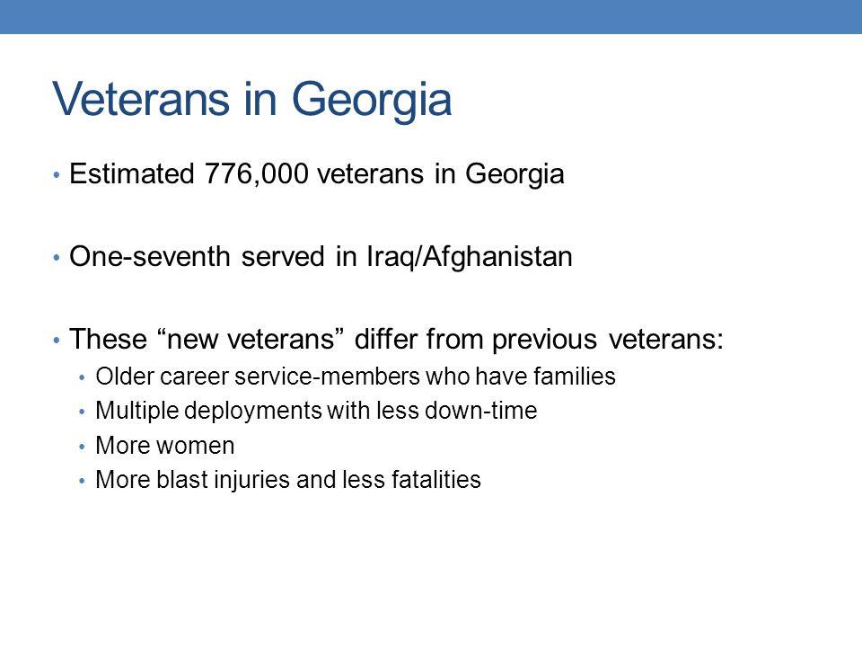 Veterans in Metro Atlanta