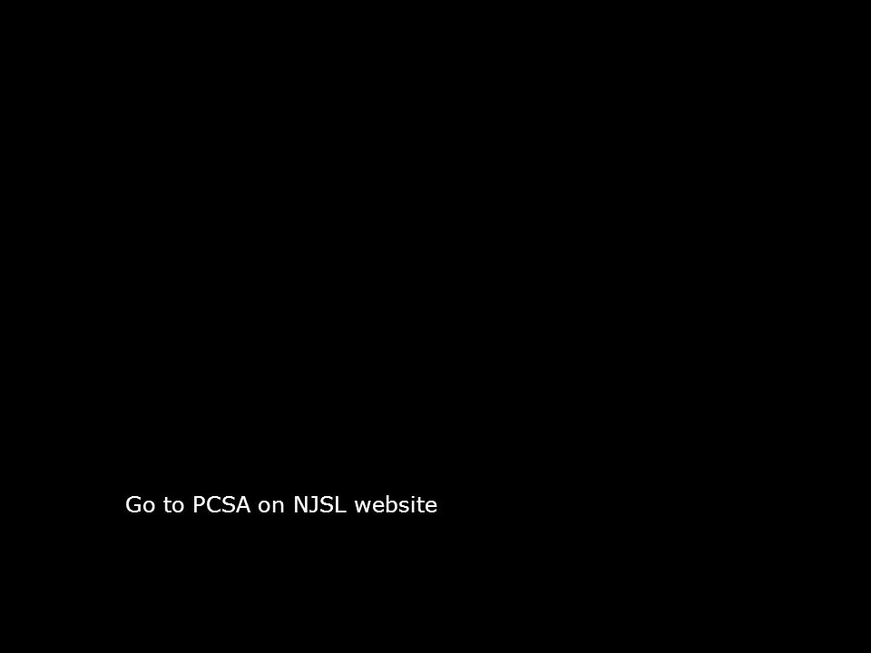 Go to PCSA on NJSL website